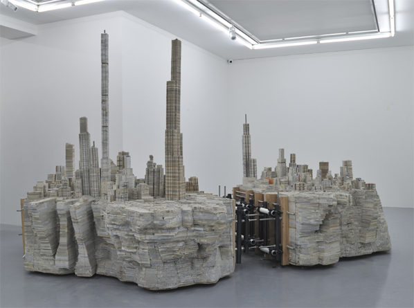 Liu Wei, Library No.6, 2012