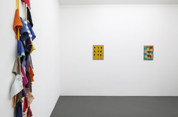 JOE FYFE, Elecciones, Installation View, Galerie Christian Lethert, Cologne