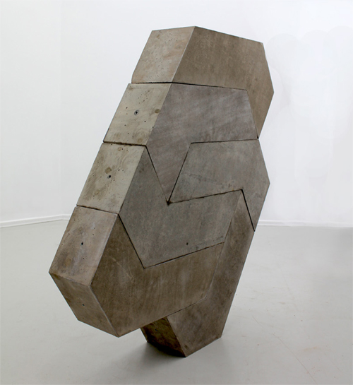 Matt Calderwood, Concrete, Installation view, David Risley Gallery, Copenhagen