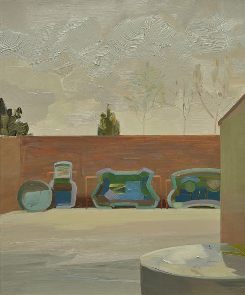 Mairead O'hEocha, Preformed Ponds and Water Barrel, Co. Dublin