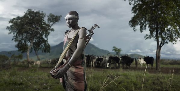 Joey L., Portrait of Kolotola, Mursi Tribe, 2009