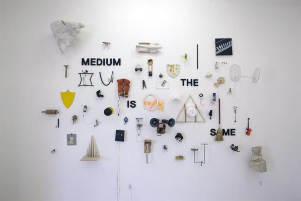 Cheon pyo Lee, Medium is the Same, 2012