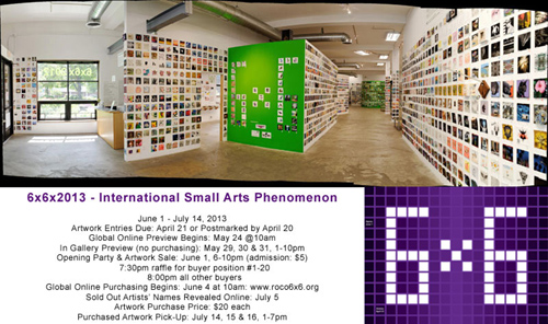 6x6x2013 - International Small Arts Phenomenon
