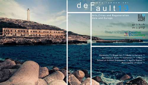 DEFAULT 13: Art, Cities and Regeneration. Asia - Europe. Masterclass in residence