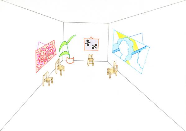 Elvire Bonduelle, Les dessins à la règle - 2012