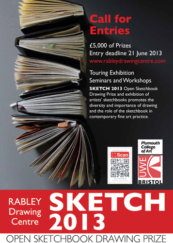 The SKETCH 2013 Open Sketchbook Drawing Prize