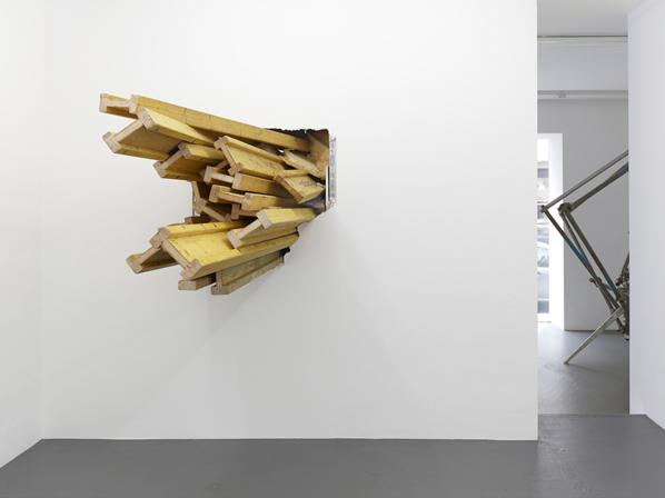 KAI RICHTER, break through the lines, Installation view, Galerie Christian Lethert, Cologne, 2013