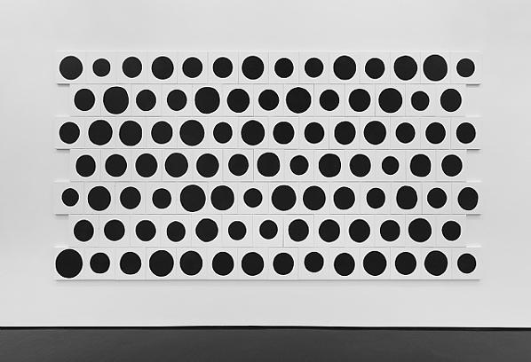 Jonathan Horowitz, 95 Dots, 2013