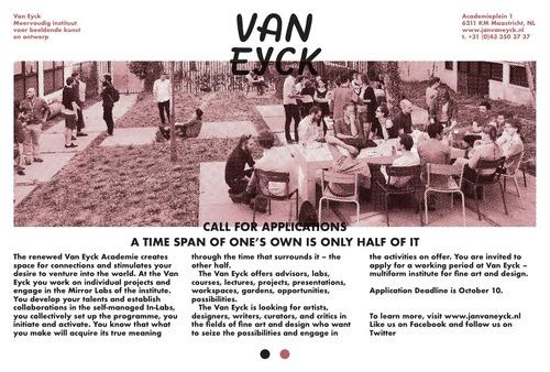 Van Eyck Multiform institute for fine art and design
