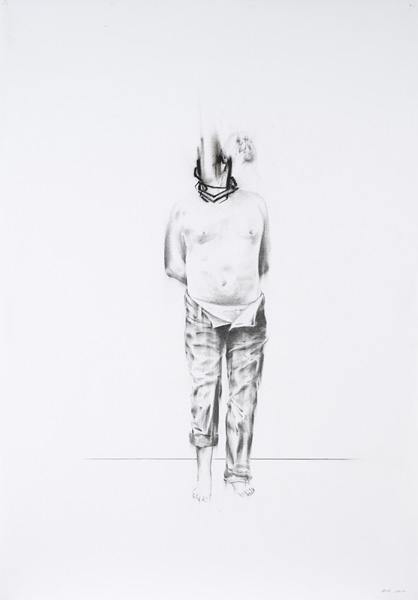 Bernardí Roig, Practice to suck the light (drawing I), 2013