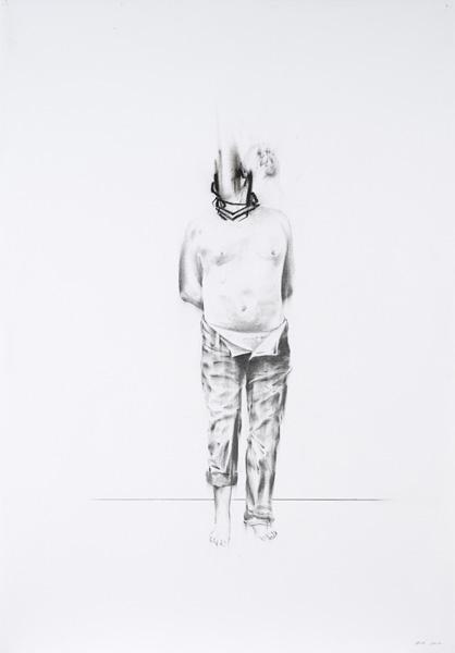 Bernardí Roig, Practice to suck the light (drawing I), 2013