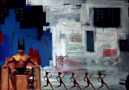 Venice Biennale 2013 participant Transart alumnus Khaled Hafez: Running Chromosome