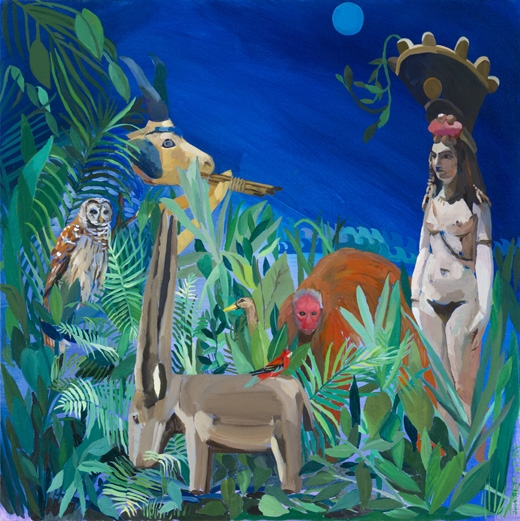 Adela Leibowitz, Isis and the goat-fish of Ea (Enki), 2012