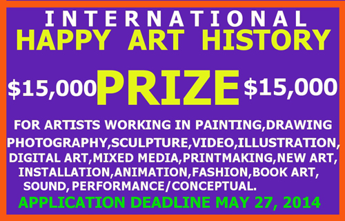 Happy Art History Prize International Semiannual Call for Artists