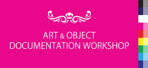 Photo workshop on art & object documentation