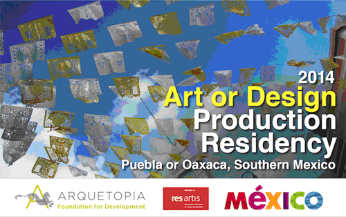 Art, Design, or Photography Production Residency - Puebla or Oaxaca