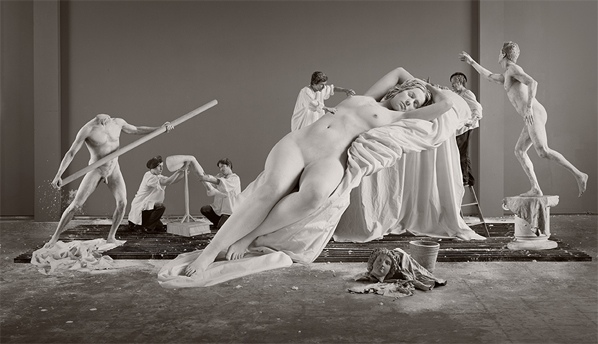 Eleanor Antin, Constructing Helen (from Helen's Odyssey), 2007