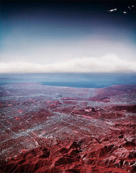 Florian Maier-Aichen, 100-Mile photograph, 2014