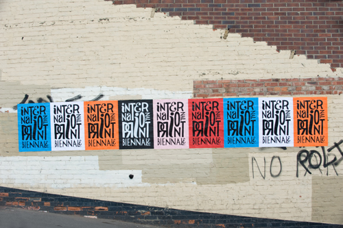 Unofficial poster by Parra, International Print Biennale 2011