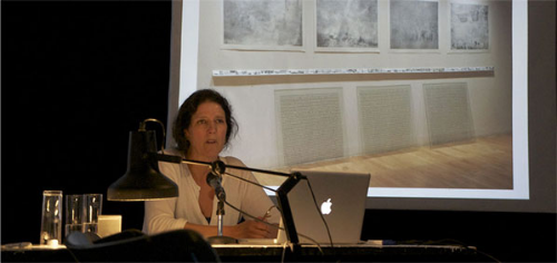 "Transart faculty Jean Marie Casbarian presenting ""(Re)Imagining a Narrative"""