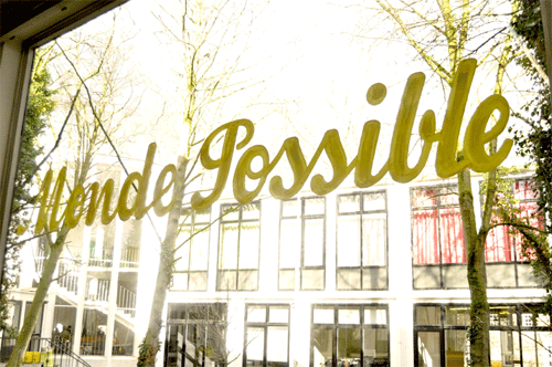"Yeb Wiersma, in collaboration withThebol Malonga, ""Monde Possible"", 2014, Credit: Photo by Van Eyck"