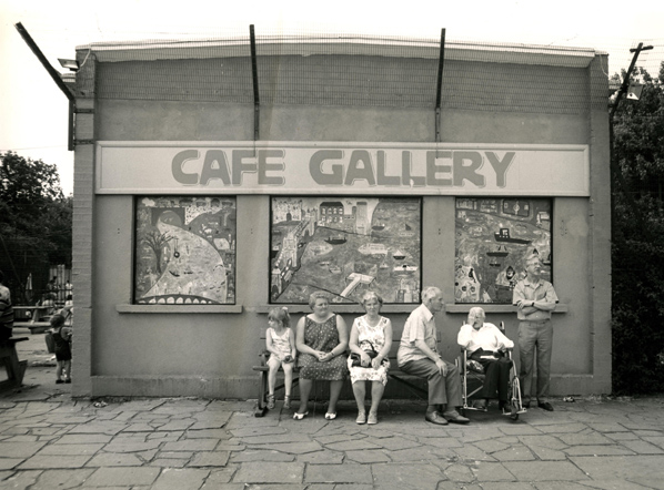 Cafe Gallery Southwark Park during the 1980's, CGP London Archives