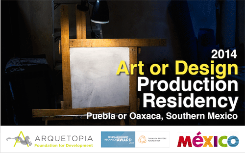 Art, Design, or Photography Production Residency – Puebla or Oaxaca