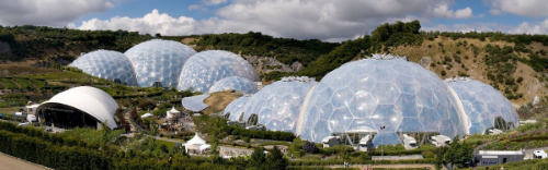 Eden Project, Cornwall. Photo Jürgen Matern