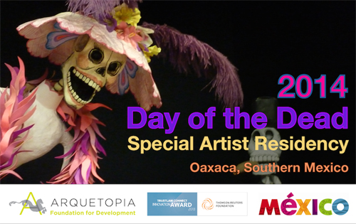 Day of the Dead Special Artist Residency 2014 – Oaxaca