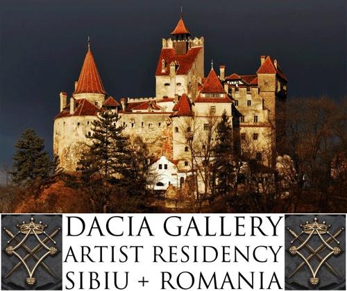 ARTIST RESIDENCY IN SIBIU, ROMANIA SUMMER 2014
