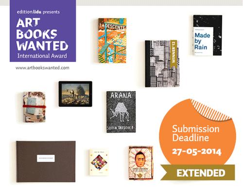 ART BOOKS WANTED International Award 2014