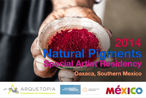 Natural Pigments Special Instructional Artist Residency 2014 – Oaxaca