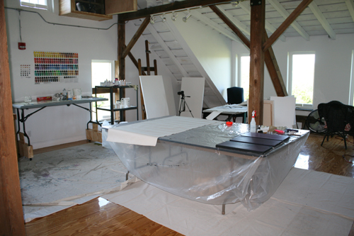 Studio space - Golden Foundation Residency Program