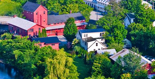 The Vermont Studio Center River campus