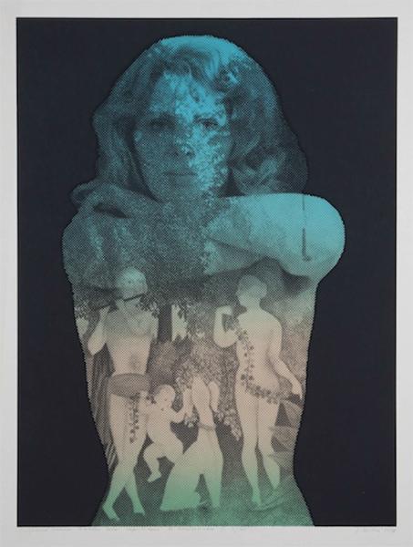 Jana Želibskà, Pleasant transformation of the female body caused by Henri Rousseau 1, 1978