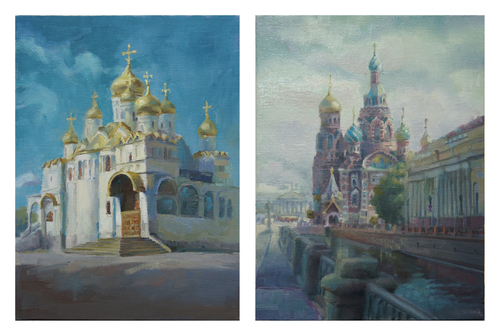 2015 - FINE ART INTENSIVE in Russia