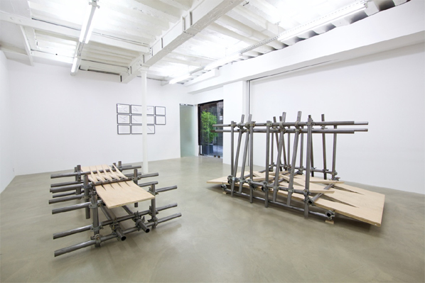 "Luciana Lamothe, Exhibition view, ""The Function of Form"", 2014"