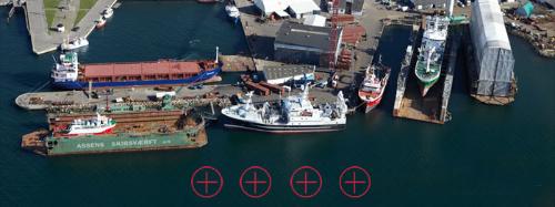 International Sculpture Symposium at Assens Shipyard, Denmark