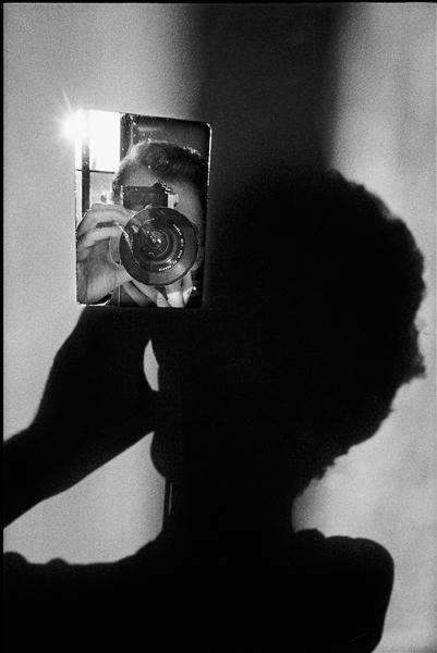 Ugo Mulas, L'operazione fotografica, Autoritratto per Lee Friedlander, 1971