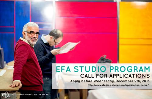 EFA Studios - Call For 2016 New Membership