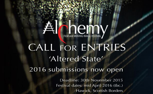 ALCHEMY FILM AND MOVING IMAGE FESTIVAL 2016