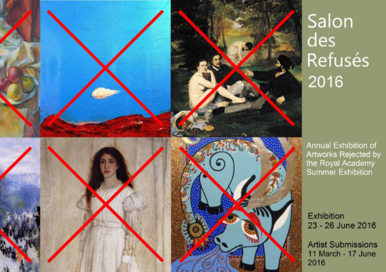 Salon des Refusés 2016 Summer Exhibition