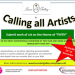 Opportunity for Artists to make a difference in the world with their art