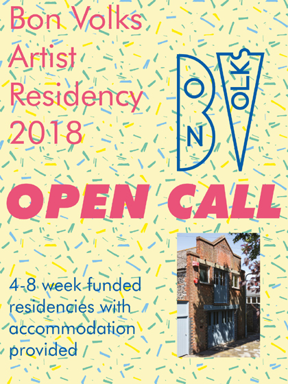 Artist Residencies at Bon Volks, Margate, UK