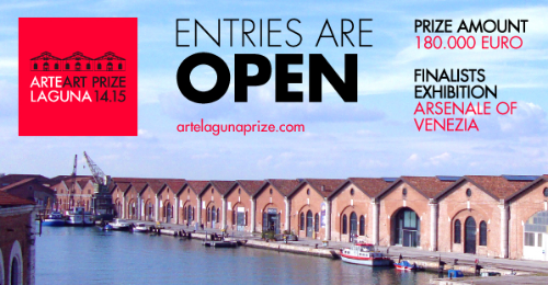 CALL FOR ARTISTS - 9th International Arte Laguna Prize