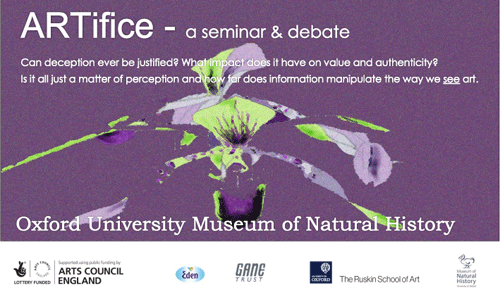 ARTifice- Art/Science Seminar