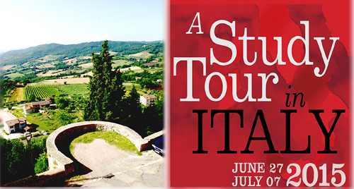 A Study Tour in Italy