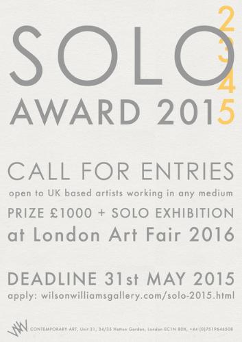 Solo Award 2015