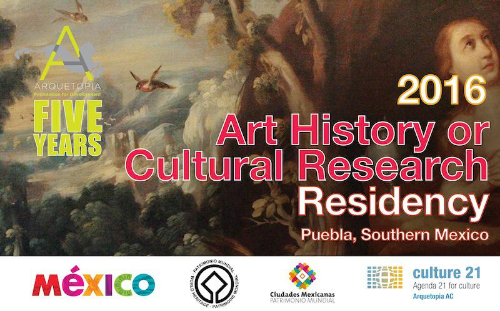 ART HISTORY OR CULTURAL RESEARCH RESIDENCY 2016