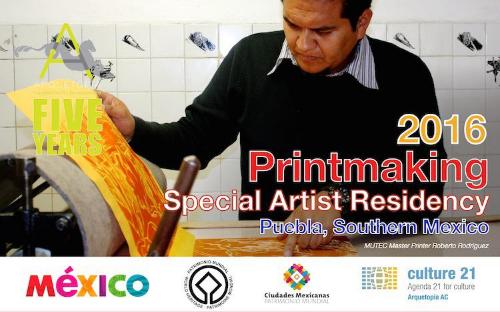 PRINTMAKING SPECIAL ARTIST RESIDENCY 2016